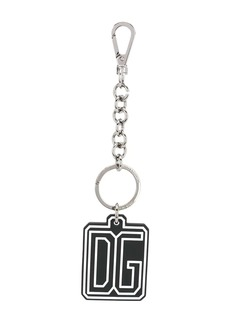Dolce & Gabbana logo pendant key ring