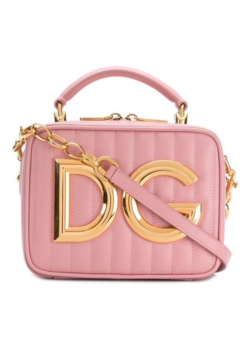 Dolce & Gabbana logo plaque bag