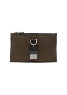 Dolce & Gabbana logo plaque flat shoulder bag