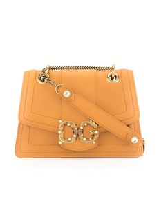 Dolce & Gabbana logo-plaque shoulder bag