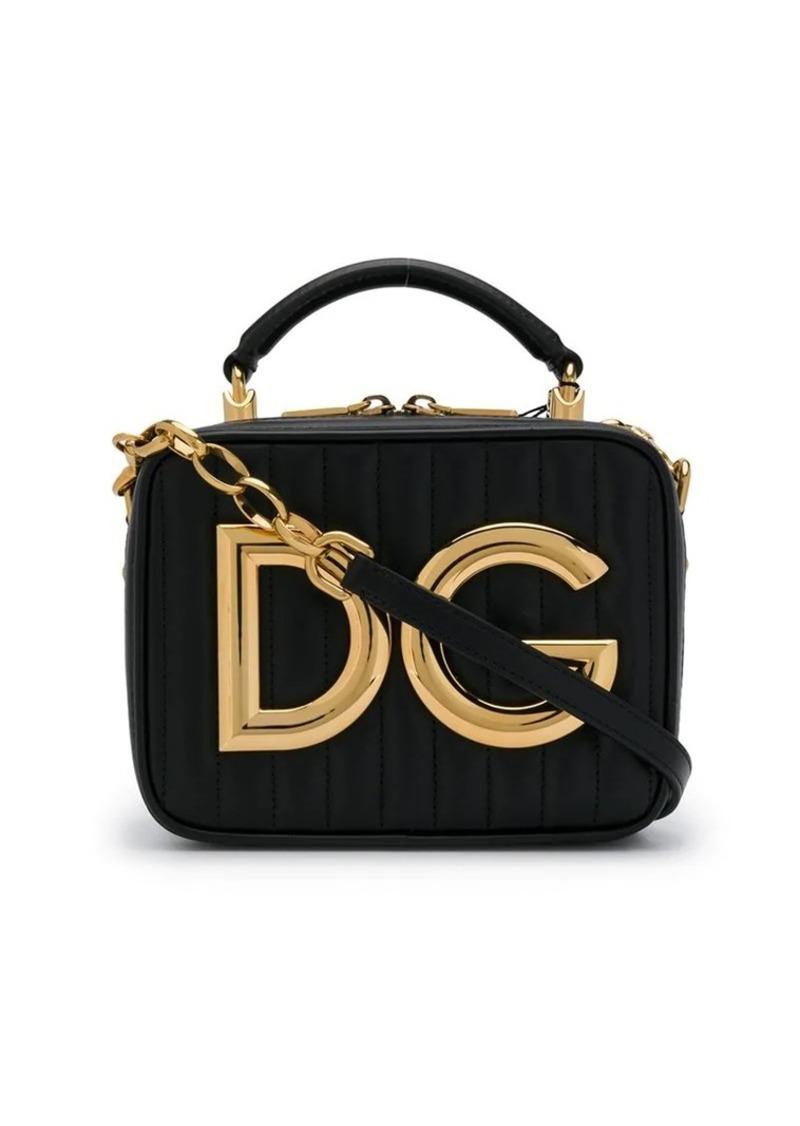 Dolce & Gabbana logo plaque crossbody bag