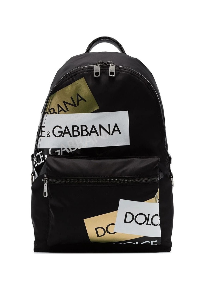 Dolce & Gabbana logo-print backpack