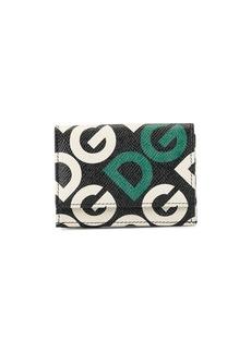 Dolce & Gabbana logo-print bi-fold wallet