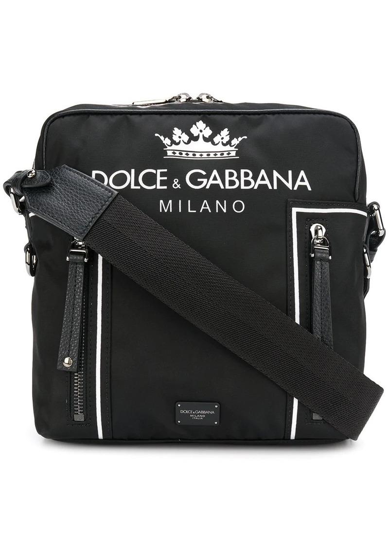 Dolce & Gabbana logo print crossbody