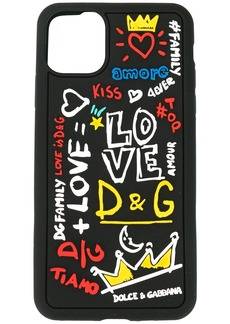 Dolce & Gabbana logo print iPhone 11 Pro Max case