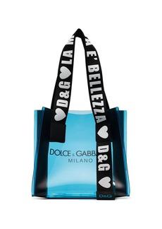 Dolce & Gabbana logo print tote bag