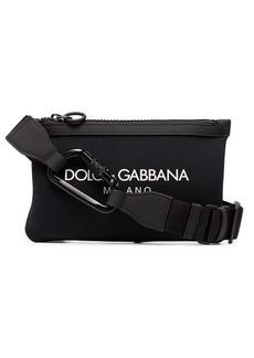 Dolce & Gabbana logo printed belt bag