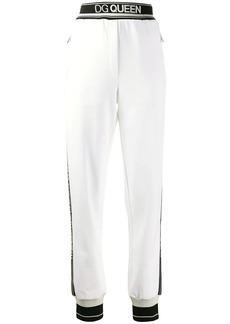 Dolce & Gabbana logo tape track pants