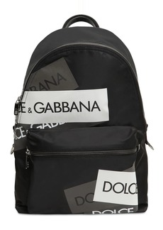 Dolce & Gabbana Logo Tech Canvas Backpack