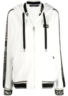 Dolce & Gabbana logo trim hoodie