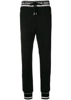 Dolce & Gabbana logo-trim sweatpants
