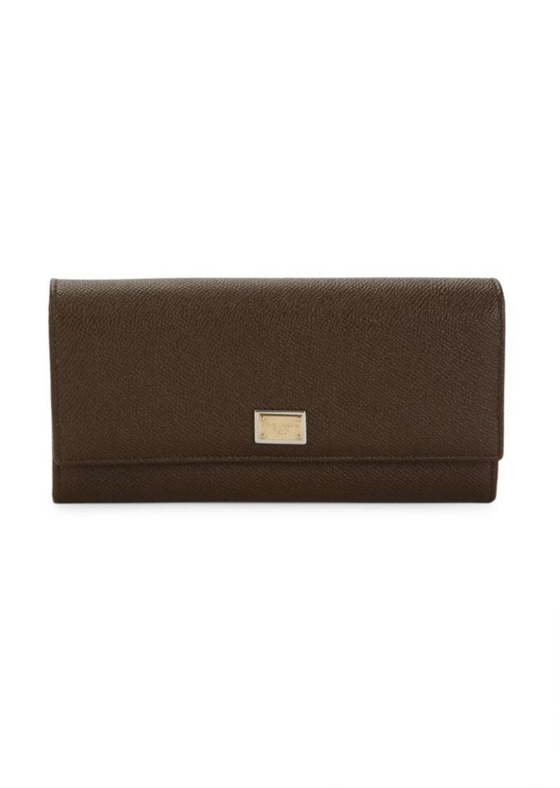 Dolce & Gabbana Long Flap Wallet