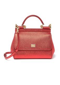 Dolce & Gabbana Long Strap Leather Satchel
