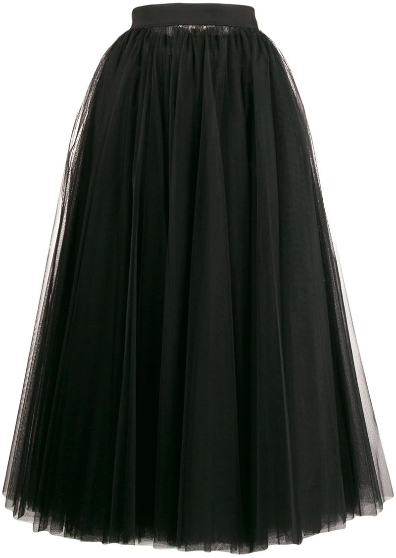 Dolce & Gabbana long tulle full skirt