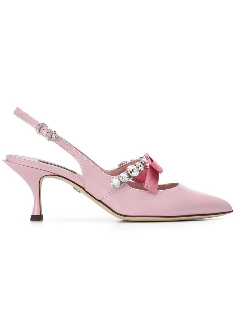 Dolce & Gabbana Lori slingback pumps