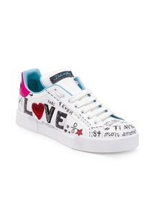 Dolce & Gabbana Love Leather Sneakers