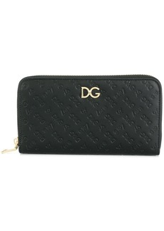 Dolce & Gabbana Love logo embossed wallet