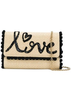 Dolce & Gabbana Love woven shoulder bag