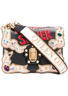 Dolce & Gabbana Lucia appliquéd shoulder bag