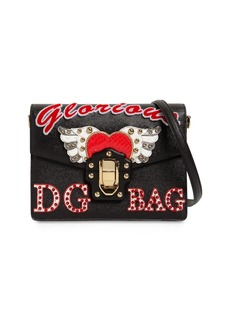 Dolce & Gabbana Lucia Leather Shoulder Bag