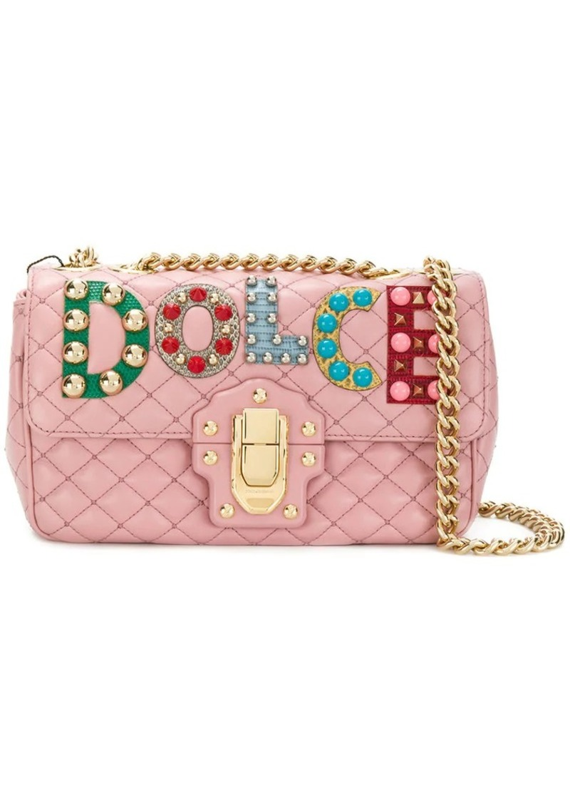 ebc4d653fb Dolce   Gabbana Lucia quilted shoulder bag