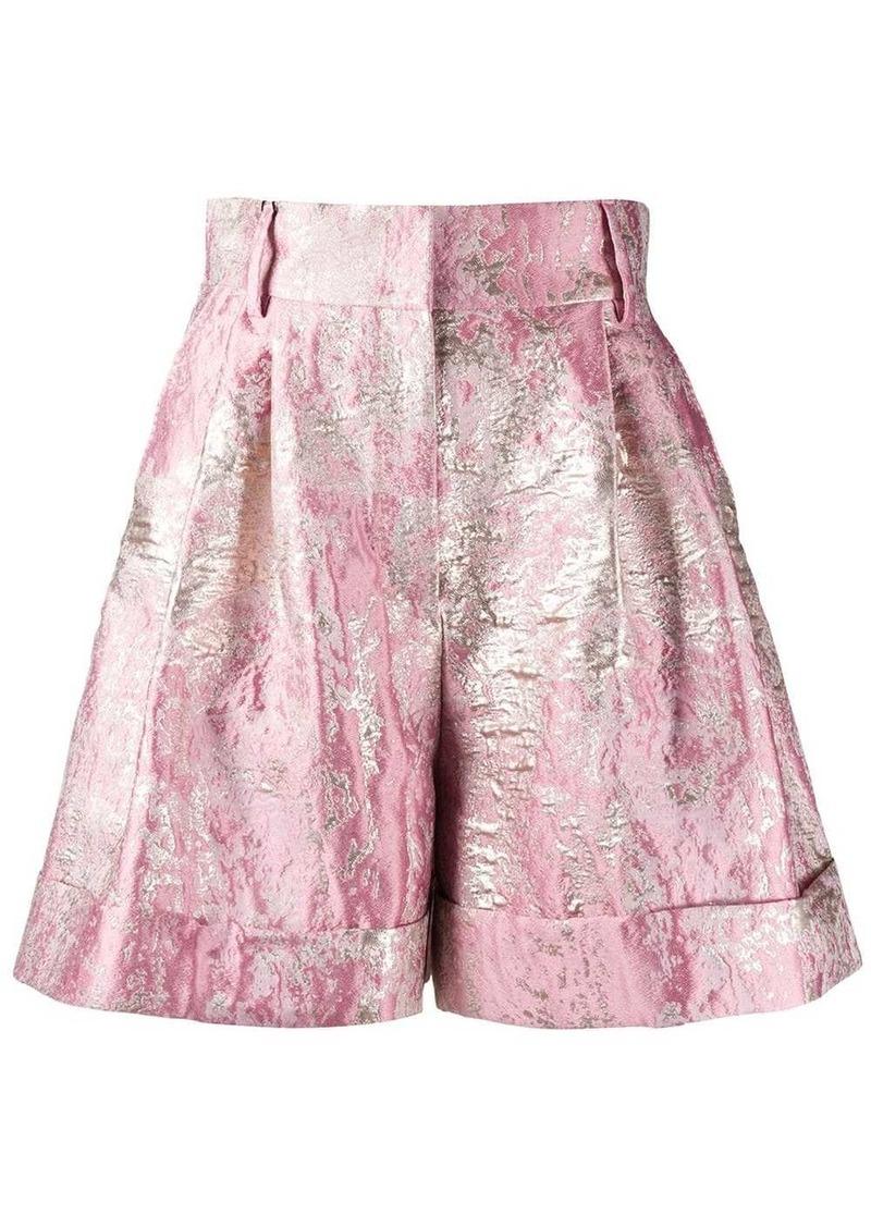 Dolce & Gabbana Lurex jacquard shorts