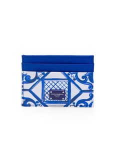 Dolce & Gabbana Maiolica Painted Card Case