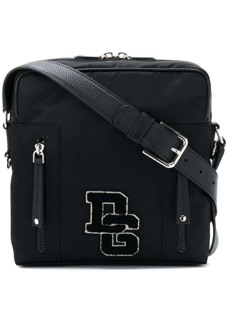 Dolce & Gabbana medium brand patch messenger bag