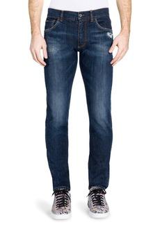 Dolce & Gabbana Medium Wash Jeans