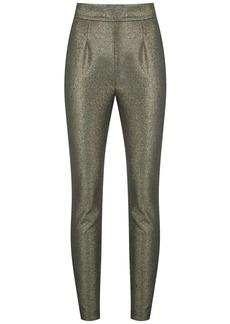 Dolce & Gabbana metallic skinny trousers