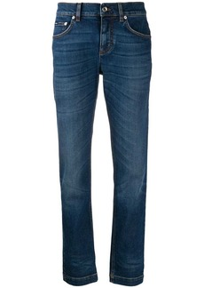 Dolce & Gabbana mid-rise slim-fit jeans