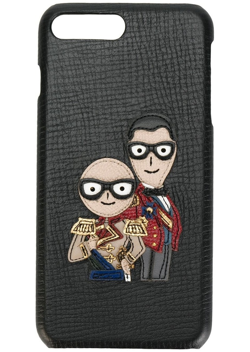 Dolce & Gabbana military designer's patch iPhone 7 case