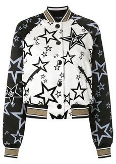 Dolce & Gabbana Millennials Star print bomber jacket