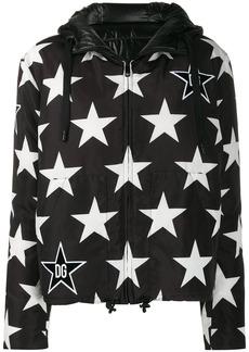 Dolce & Gabbana Millennials Star printed padded jacket