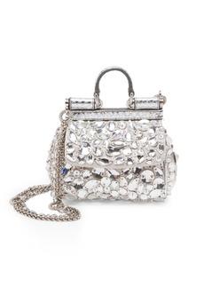Dolce & Gabbana Mini Crystal Crossbody Bag