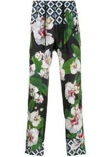 Dolce & Gabbana mix prints trousers