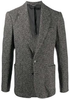Dolce & Gabbana mélange single-breasted blazer