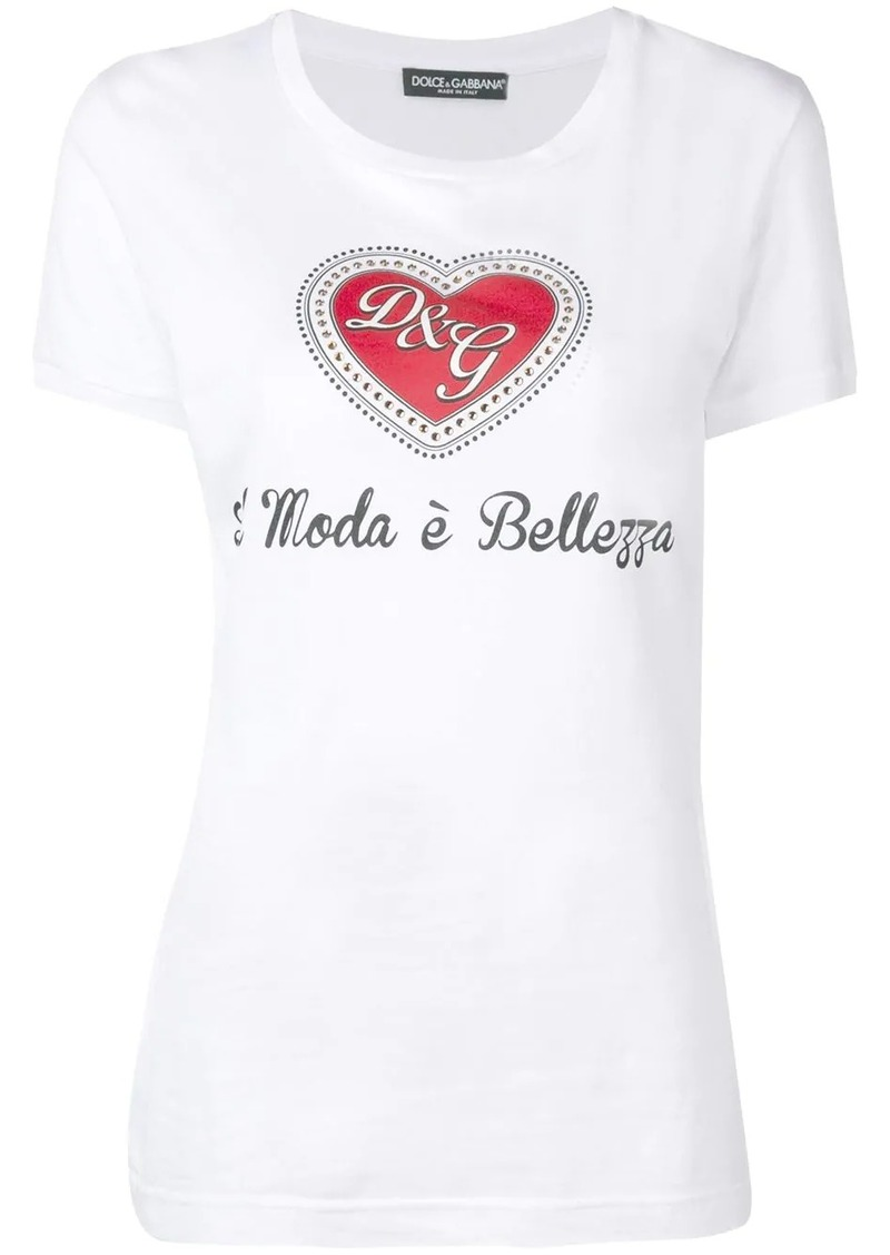 Dolce & Gabbana Moda è Bellezza T-shirt
