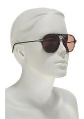 Dolce & Gabbana 54mm Navigator Sunglasses