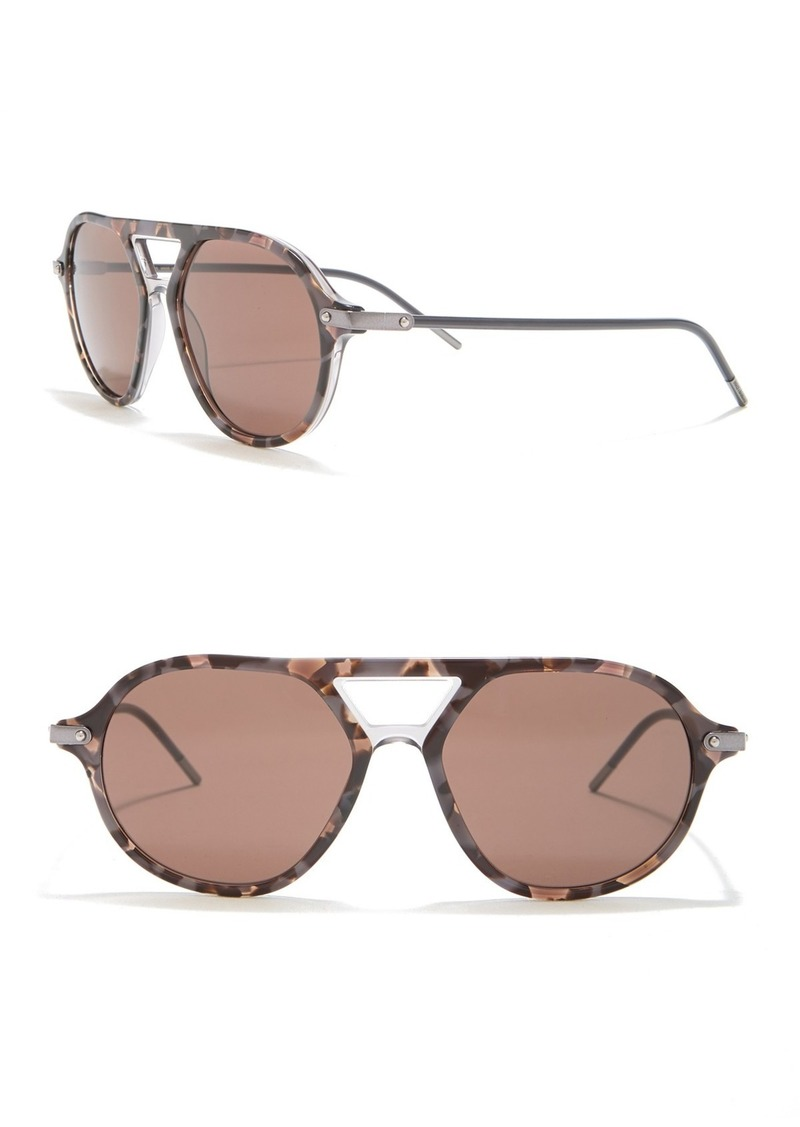 Modified Round 54mm Sunglasses