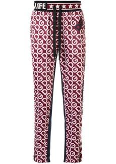 Dolce & Gabbana monogram print track pants