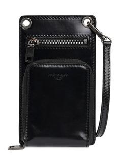 Dolce & Gabbana Multifunctional Leather I-phone Case