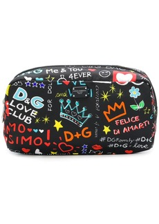 Dolce & Gabbana Mural print make-up bag