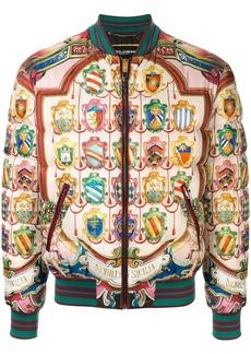 Dolce & Gabbana Nobili Di Sicilia bomber jacket