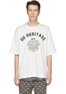 Dolce & Gabbana Off-White 'DG Heritage' T-Shirt