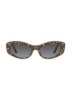 Dolce & Gabbana Origin 53MM Cat Eye Sunglasses
