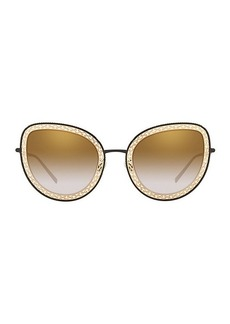 Dolce & Gabbana Origin 54MM Cat Eye Sunglasses