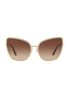 Dolce & Gabbana Origin 61MM Cat Eye Sunglasses