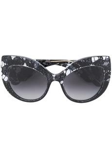 Dolce & Gabbana oversized cat-eye sunglasses