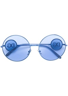 Dolce & Gabbana oversized round sunglasses
